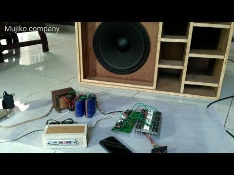 Cek Sound Hasil Penambahan Transistor Final