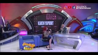 """Karen Yapoort PENSÓ QUE ROBERTICO HABÍA SACADO A  """"VALE POR TRES"""" TRAS SU SALIDA"""
