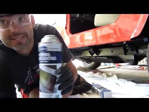 How to Undercoat and Seal Jeep Truck Frame Eastwoods & Chassis Saver