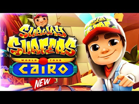 Subway Surfers World Tour - Cairo - BEST Gameplay | Games For Children | Videos For Kids