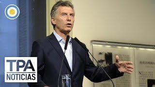 Mauricio Macri sobre el debate en el congreso | #TPANoticias
