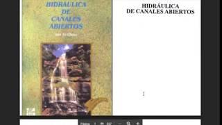 DESCARGAR-HIDRAULICA DE CANALES ABIERTOS- VEN TE CHOW