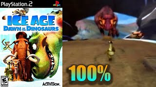 Ice Age: Dawn Of The Dinosaurs [19] 100% PS2 Longplay