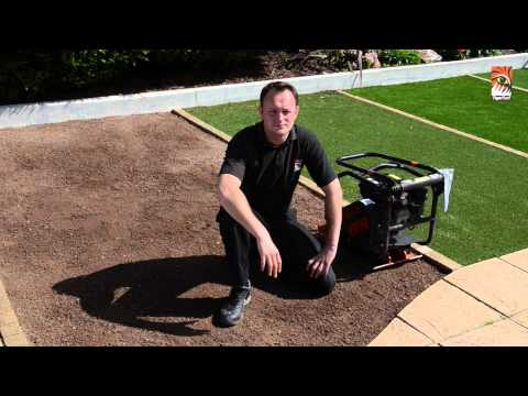 TigerTurf Installation Guide 5: Sand Laying, Compaction & Geotextile