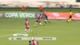 Copa Verde 2016 - Remo 4 x 0 Náutico-RR