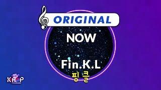 [KPOP MR 노래방] NOW - 핑클 (Origin Ver.)ㆍNOW - Fin.K.L