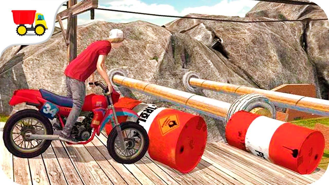 Bike Racing Games Stunt Bike Racing 3d Gameplay