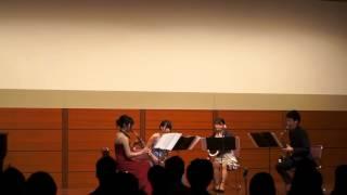 Tsukuba Saxophone Quartet - Maurice Ravel - Le Tombeau de Couperin - IV: Rigaudon