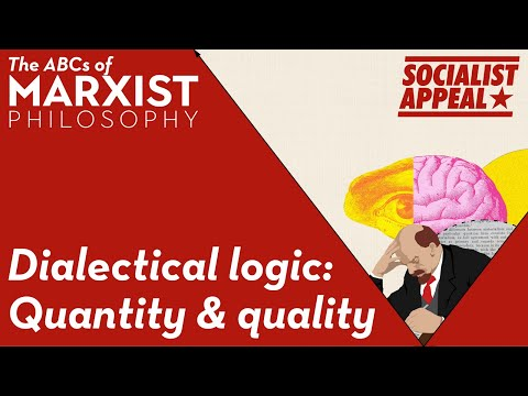 Dialectical logic: quantity and quality