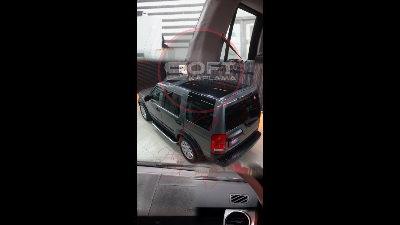 Land Rover kuaför detaylı temizlik boya koruma seramik kaplama göğüs direksiyon deri kaplama