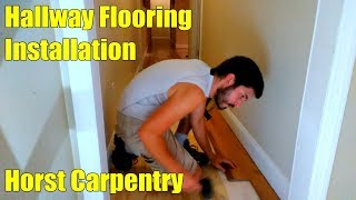 House Renovation | Hallway Flooring Installation | Day 10