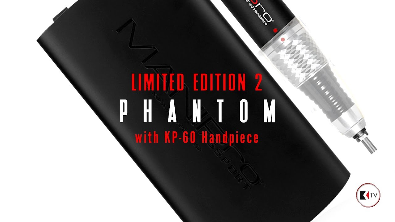 MANIPro Passport Phantom Electric Nail File Limited Edition Version2 ...