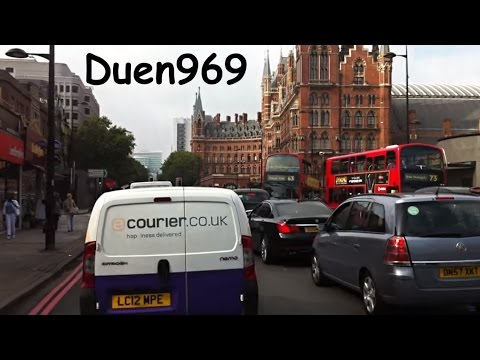 London Streets (575.) - Highgate - Archway - Tufnell Park - King's Cross - Russell Square - Holborn