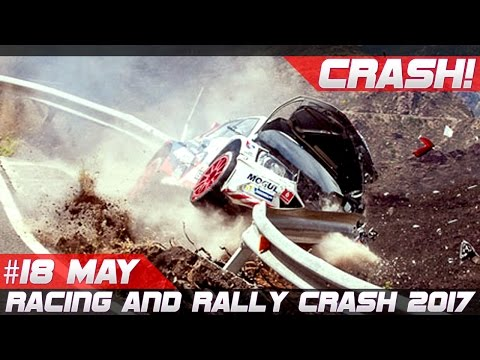 Racing and Rally Crash Compilation Week 18 May 2017
