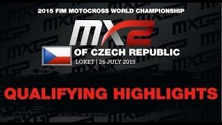MXGP of Czech Republic MX2 Qualifying Race Highlights 2015