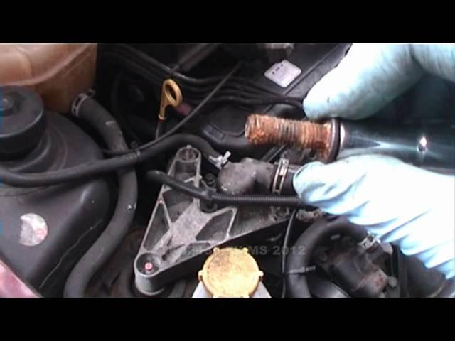 Thermostat Removal On A Fiesta   Endura E Engine Oct  Clipzui Com