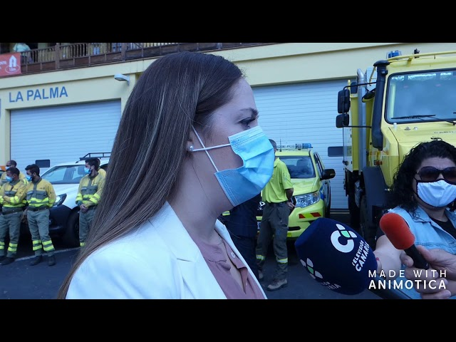 Presentación de la campaña contra Incendios en La Palma.
