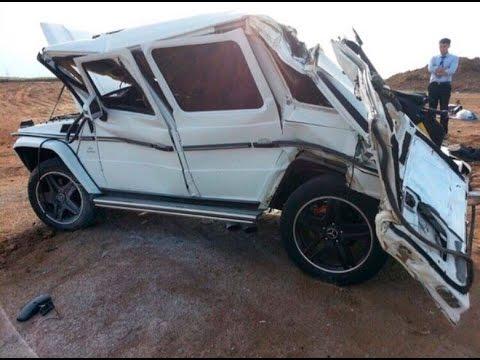 Mercedes-Benz Gelandewagen (G-Class) Crash | Аварии Мерседес Гелендваген (Гелик)