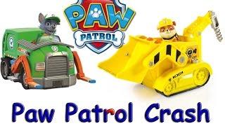 Щенячий патруль Бій на іграшкових машинках рятувальників Paw Patrol Crash