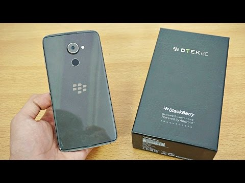 BlackBerry DTEK60 - Unboxing & First Look! (4K)