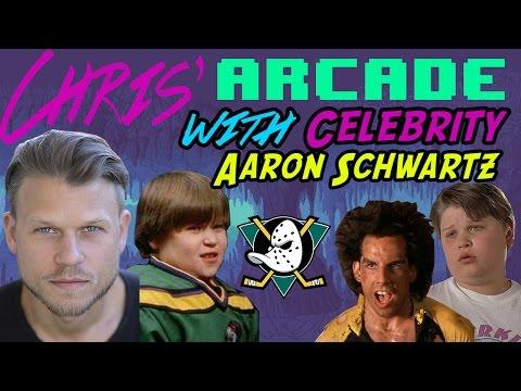 The Mighty Ducks and Heavy Weights Actor Aaron Schwartz  Chris' Arcade
