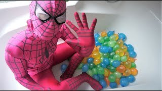 Learn Colors Water Balloon for Children Funny Song