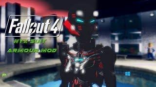 Fallout 4 Armour mod Nyx Suit SHOWCASE [HD]