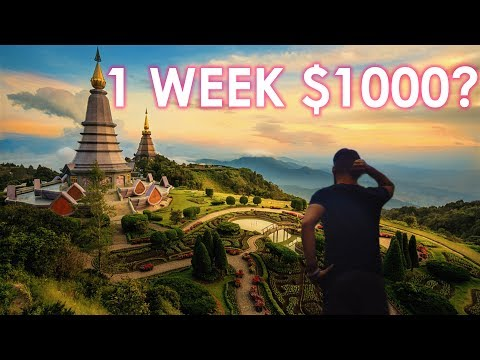 One Week in Thailand for only $1000 (International Flight Included)