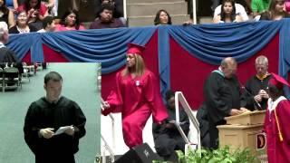 Woodrow Wilson High School Graduation 2013