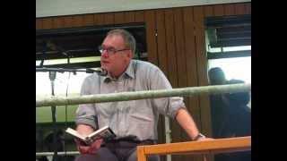 Leg dich, Zigeuern, Lesung Roger Repplinger Teil 1