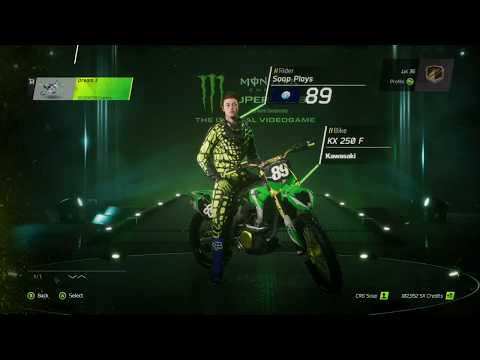 Monster Energy Supercross Game - Graphic Kits Kawasaki