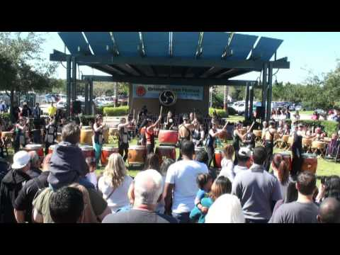 Orlando Japan Festival 2014 - One Hundred Drummers