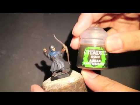 How to Paint Bretonnian Bowman - House Greyjoy - Part 1