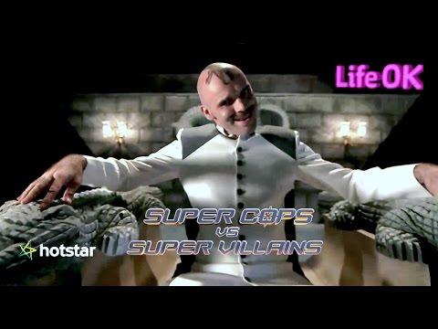 Shapath SuperCops Vs SuperVillains LifeOK TV - Crocodile Man Intro, w/Imran Khan Sr & Zachary Coffin