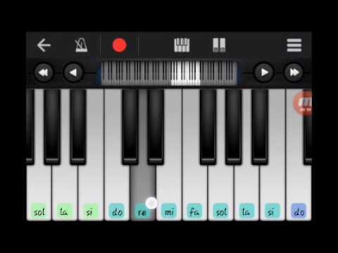 kuburan  lupa-lupa ingat-tutorial piano (walk band piano)