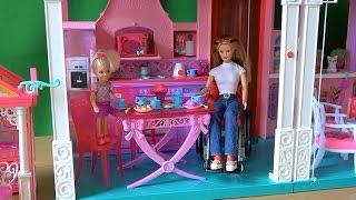 Видео с куклами Барби, серия 421, Келли несчастный ребенок, Урок от Бекки