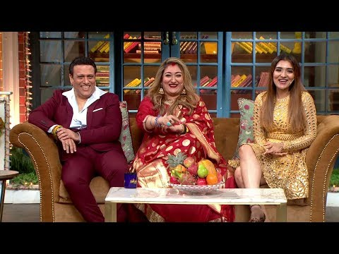The Kapil Sharma Show  Uncensored Footage | Govinda, Sunita Ahuja, Tina Ahuja