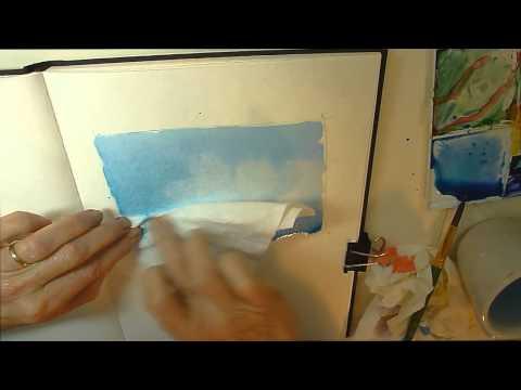 Watercolor Sketching & Journaling - Part 2 - Gay Kraeger