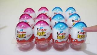 Kinder Surprise Eggs for Girls 2016 | KINDER JOY Hello Kitty New