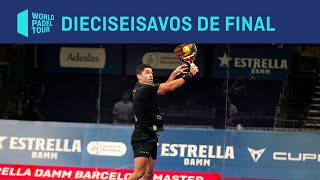Resumen dieciseisavos de final (miércoles tarde) Estrella Damm Barcelona Master