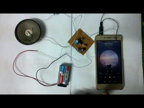 Audio Amplifier Project using LM386 Electronic Devices and Circuits by electronics projects