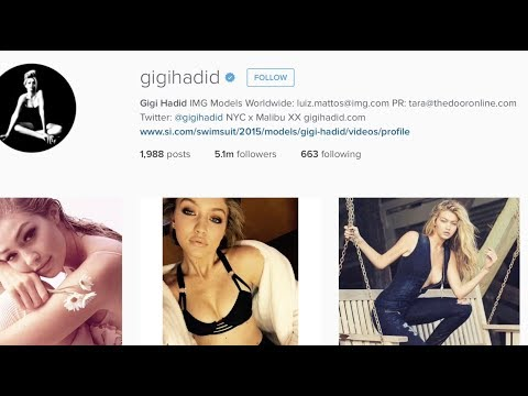 GIGI HADID WHAT I EAT IN A DAY 2017  Review