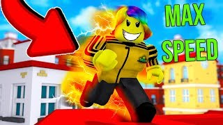 Hitting MAX SPEED May Be The BEST IDEA Ever.. (Roblox Parkour Simulator)