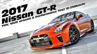 Driving the all new 2017 Nissan GT-R. We take a look at the REAL wo...
