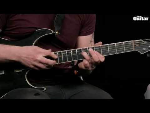 Guitar Lesson: Sikth - Tapping