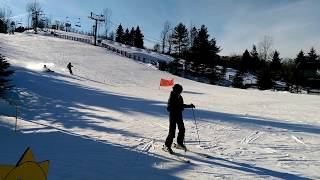 USA КИНО 1158. Видео зарисовка с лыжного курорта Bittersweet, Oswego - Michigan