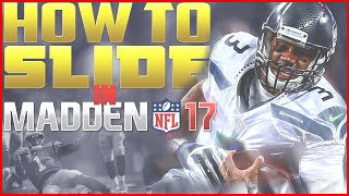 Madden NFL 17 Tips: How to QB Slide in Madden 17!! | NEW CONTROLS