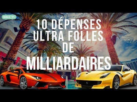 10 DÉPENSES ULTRA FOLLES DE MILLIARDAIRES