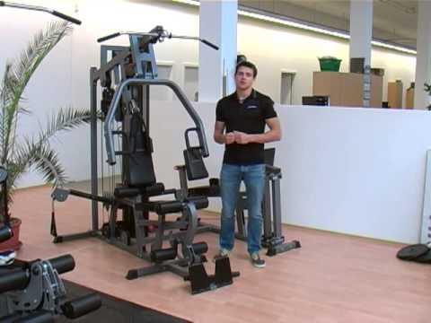 bodycraft fitnessstation x press pro produktvorstellung youtube. Black Bedroom Furniture Sets. Home Design Ideas