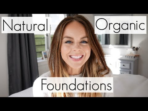 Top 5 Favourite Natural & Organic Foundations | Non Toxic Ma